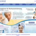 Acuvue mit neuer Homepage