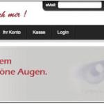 Erweiterte Suchoptionen im Schöne Augen Webshop