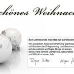 Das Team von Optiker Schütz wünscht schöne Weihnachten