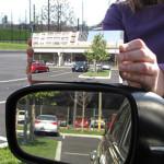 Außenspiegel ohne toten Winkel