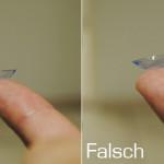 Sind meine Kontaktlinsen richtig herum? Wie erkenne ich dies?